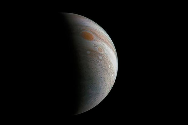 Juno snaps closest pic of Jupiter's Great Red Spot