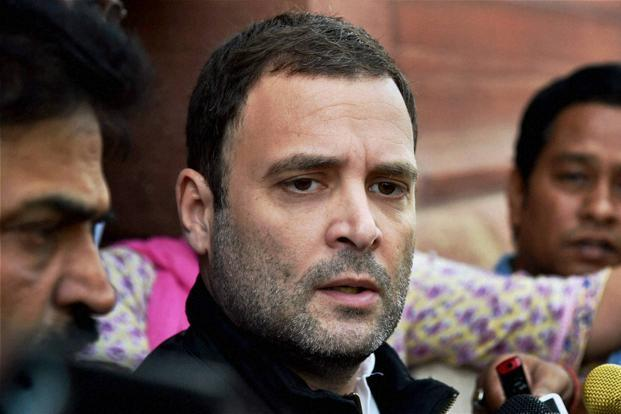 Terrorists on Monday night killed seven Amarnath Yatra pilgrims, including six women, and injured 19 others as they struck at a bus in Kashmir's Anantnag district, in the worst attack on the annual pilgrimage since the year 2001. Above, Congress vice-president Rahul Gandhi. Photo: PTI