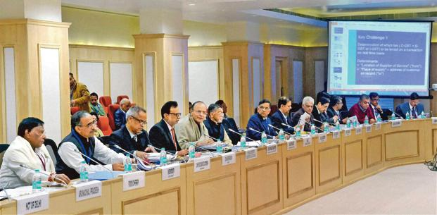 A file photo of GST Council meeting in progress. The GST Network expects more businesses and traders to register or migrate to the GSTN platform.