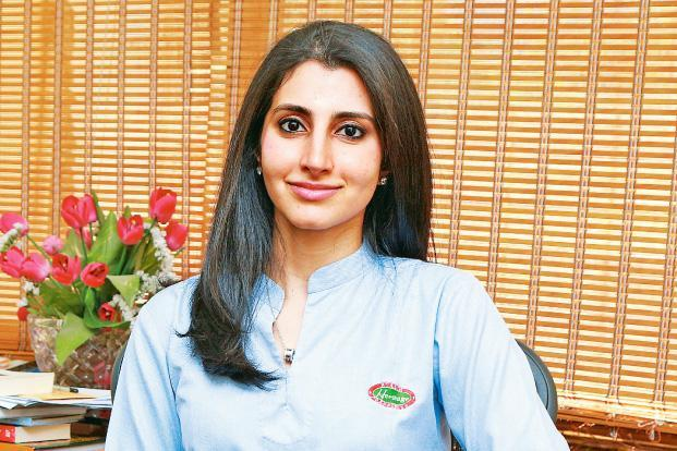Heritage Foods executive director Nara Brahmani.