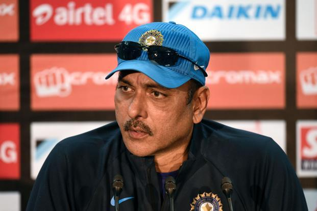 A file photo of new team India coach Ravi Shastri. Photo: AFP