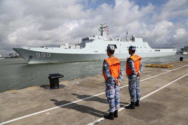 Djibouti will be China's first overseas naval base, although Beijing officially terms it a logistics facility. Photo: AP