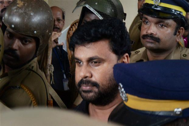 Actor Dileep in a court in Kochi on Wednesday. The silence of Malayalam film stars Mammootty and Mohanlal on Dileep's arrest and the sexual assault case hasn't gone unnoticed. Photo: PTI