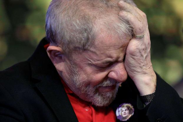 Former Brazilian President Luiz Inacio Lula da Silva was found guilty of accepting 3.7 million reais ($1.2 million) worth of bribes from engineering firm OAS SA. Photo: Reuters
