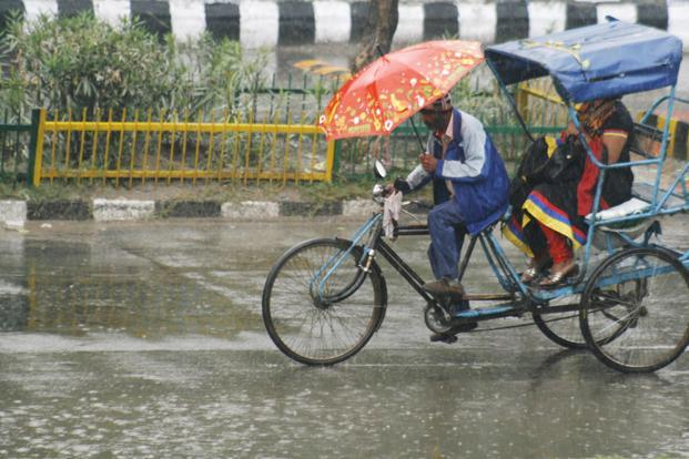 Mohroni recorded 7cm of rainfall, followed by Lalganj, Gazipur, Salempur and Azamgarh 3cm each. Photo: Hindustan Times