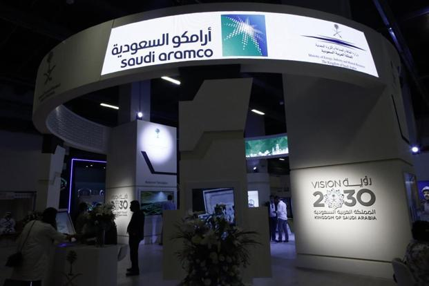 Saudi Aramco aims to raise as much $100 billion from its initial public offering (IPO). Photo: Bloomberg