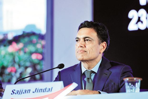 JSW Group chairman Sajjan Jindal said the firm will review its offer to buy a stake in Monnet Ispat. Photo: S. Kumar/Mint