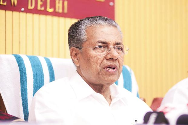 Kerala chief minister and LDF leader Pinarayi Vijayan. If JD(U) departs, it would be the second big party to leave the Congress-led opposition front United Democratic Front (UDF) in Kerala after losing assembly elections in May 2016. Photo: Ramesh Pathania/Mint