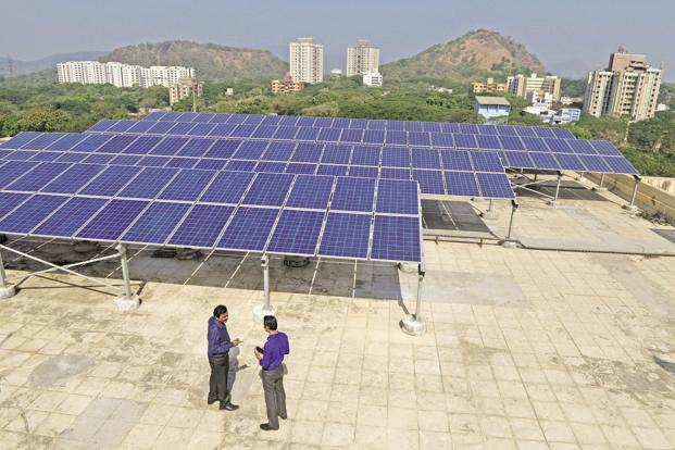 According to CleanMax Solar, it is India's largest on-site solar power provider with a combined capacity of around 100MW. Photo: Abhijit Bhatlekar/Mint