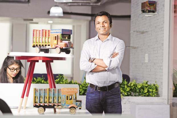 Rajesh Yabaji, co-founder and CEO of BlackBuck. Photo: Hemant Mishra/Mint