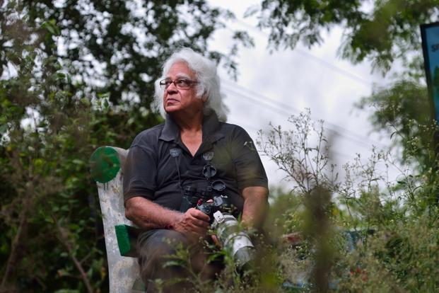 Anand Arya (72) retired from Continental Carbon India, now bird photographer and environmental activist. Photo: Pradeep Gaur/Mint