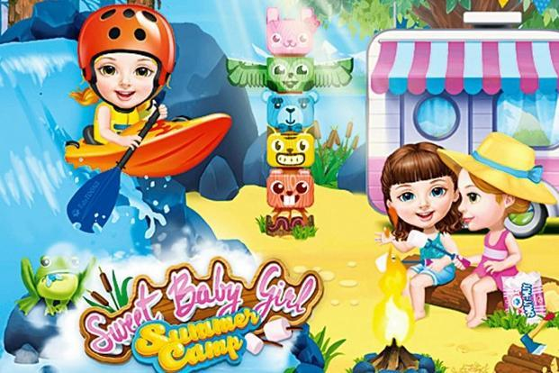 In June, games like 'Sweet Baby Girl Summer Camp'generated the most downloads for the Lithuania-based TutoTOONS.