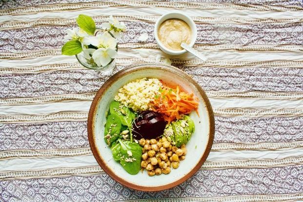 Roasted Chickpea Buddha Bowl. Photo: Pamela Timms