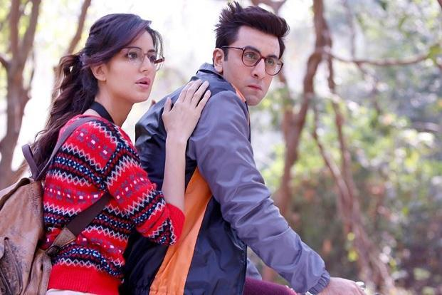 Ranbir Kapoor and Katrina Kaif in a still from 'Jagga Jasoos'.