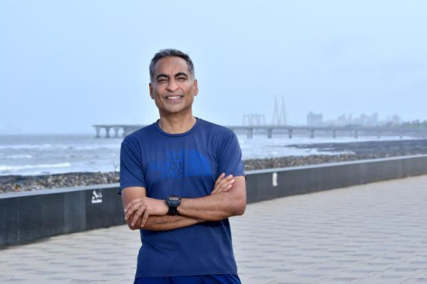 Sandeep Bhandarkar(53) pre-tired from finance sector, now a running coach. Photo: Aniruddha Chowdhury/Mint