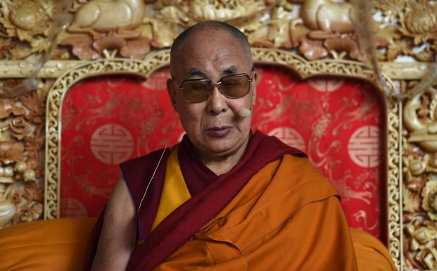 The Dalai Lama, who lives in exile in Dharamshala, is due to speak at a three-day conference in Botswana's capital Gaborone on 19 August. Photo: AFP