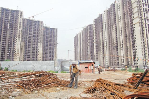 As land prices fall and distressed assets rise, land deals are picking up pace. Photo: HT