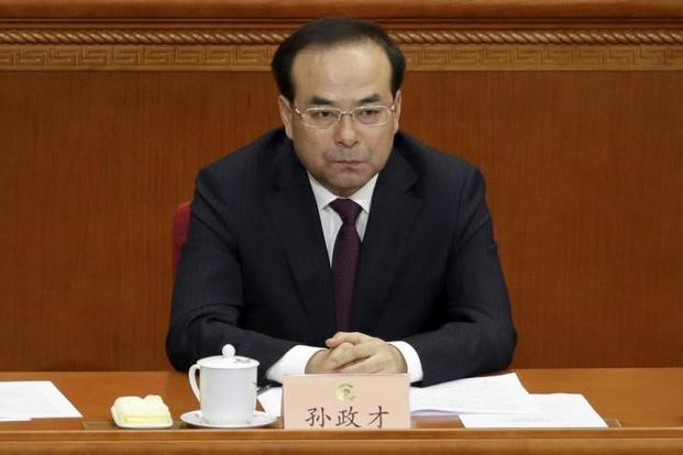 Officials with ties to the leadership and foreign diplomats say Sun Zhengcai has been out of favour after the party's anti-corruption watchdog in February criticised Chongqing authorities for not doing enough to root out Bo Xilai's influence. Photo: Reuters