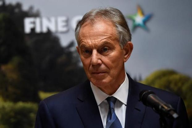 Blair has also criticized Jeremy Corbyn for offering a 'jobs first' break from the EU without the mechanism to deliver it.  Photo: Reuters