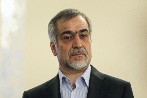 A file photo of Hossein Fereydoun, brother of Iranian President Hassan Rouhani. Photo: AFP