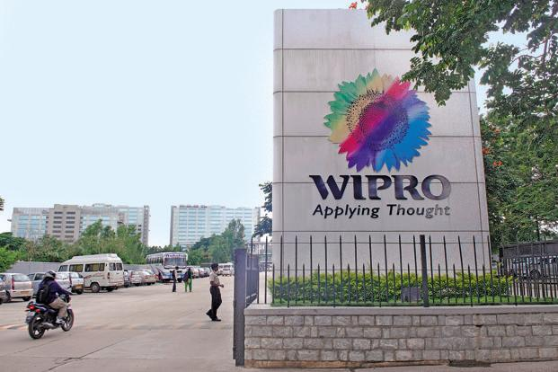 During the day, Wipro shares rose by 5.54% to Rs 273.90. Photo: Hindustan Times