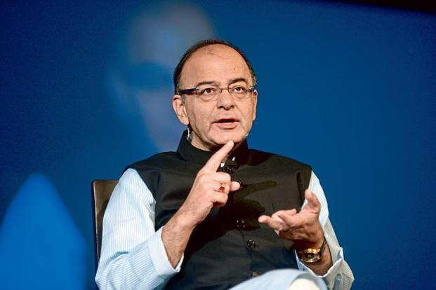 Arun Jaitley also said that the RBI has recently launched a mobile app which allows users to see the features of new Rs500 and Rs2,000 notes. Photo: Abhijit Bhatlekar/Mint