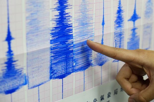 The quake was followed by numerous aftershocks, including several above magnitude 5.0. Photo: AP