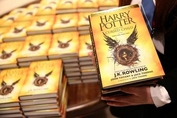 Harry Potter Books Year Published ~ New harry potter books set to be published in october