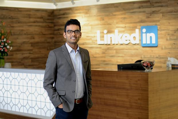 LinkedIn's India head, Akshay Kothari, said the company has seen a growing interest in its platform from users in tier II and tier III towns over the past six months. Photo: Hemant Mishra/Mint
