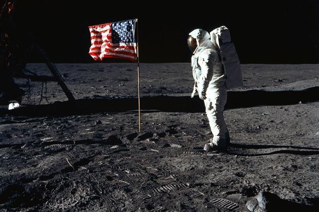 Spurred by the auction, a curiously named nonprofit called For All Moonkind is pushing the United Nations to protect the six Apollo landing sites and lunar items such as the bag. Photo: AFP