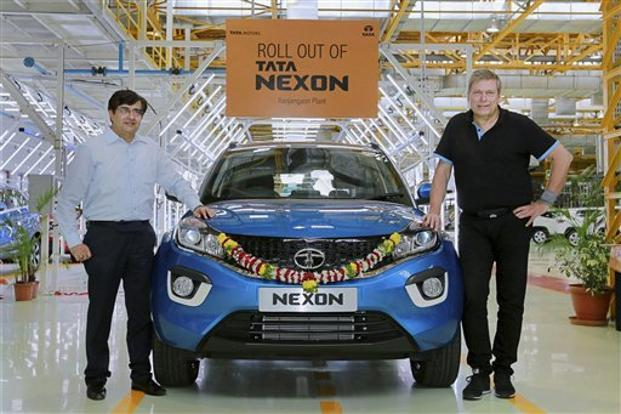 Tata Nexon rolls out of Ranjangaon plant; will arrive at dealerships soon