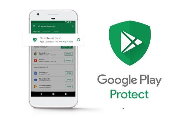 Play Protect allows users to locate, lock and erase their smartphone remotely, if it is misplaced or stolen.