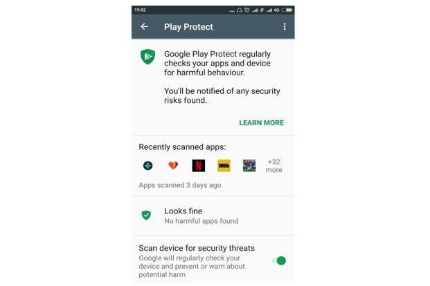 Google has developed a machine learning algorithm which is at the heart of Play Protect.