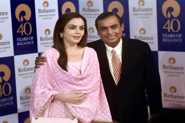 Mukesh Ambani's Reliance Jio has already more than 100 million paying customers. Photo: PTI