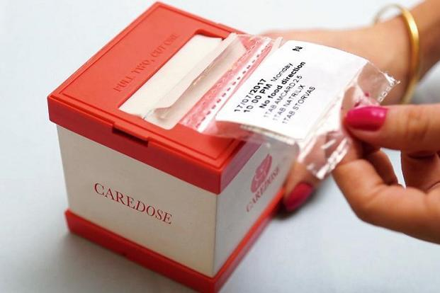 Packaged medicine subscription by Caredose