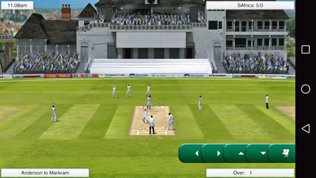 'Cricket Captain 2017' works offline and has been optimized well for devices with low storage.