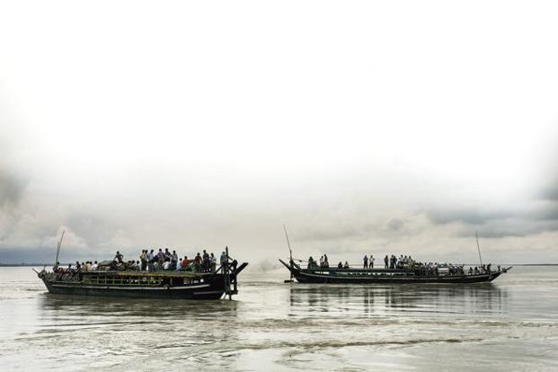 Ferries on the Brahmaputra river. Photo: iStockphoto