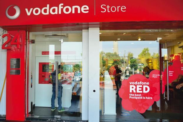 Vodafone said the rise in organic service revenue boosted its confidence in the outlook for the full year, when it expects to grow core earnings by 4-8%. Photo: Mint