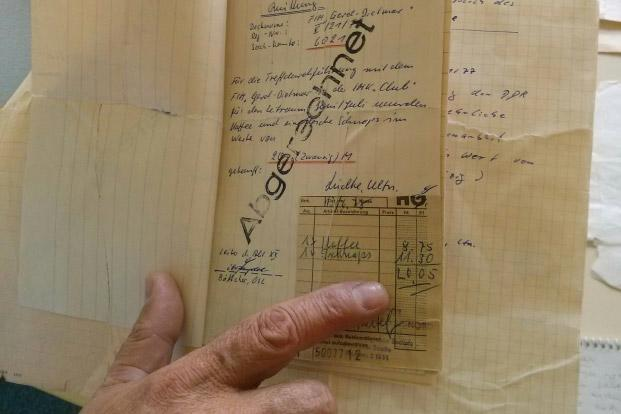 The Stasi files are a treasure trove of information. Other hidden connections between India and GDR may spring up once more files are put together. Photo: Sukhada Tatke