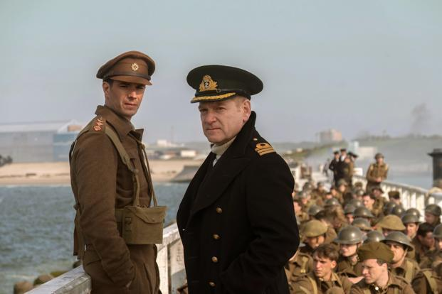 James D'Arcy (left), and Kenneth Branagh in a scene from 'Dunkirk'. Photo: AP