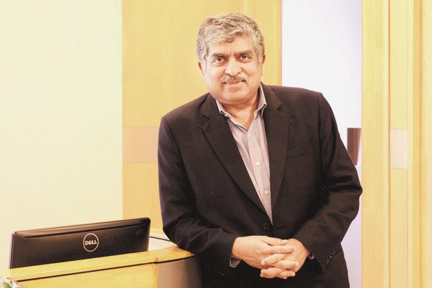Nandan Nilekani believes the tendency to abuse market dominance achieved through use of data can be effectively addressed by a law. Photo: Hemant Mishra/Mint
