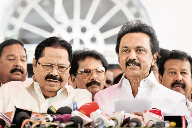 File photo. DMK president M.K. Stalin alleges Centre's policies and AIADMK's ignorance poured cold water on the medical aspirations of students in Tamil Nadu. Photo: Lakshman Kuchi/HT