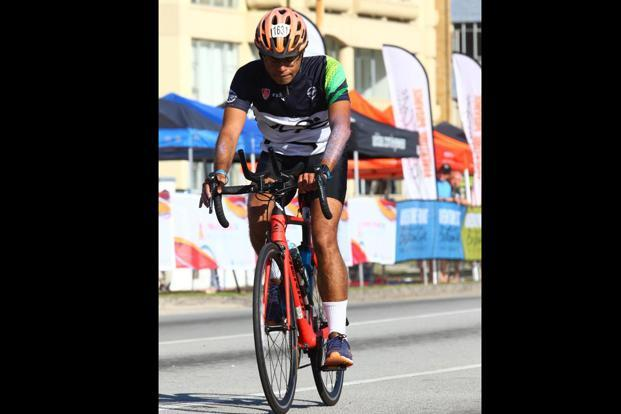Mumbai's Navin Wadhwani completed the Ironman triathlon in South Africa earlier this year.