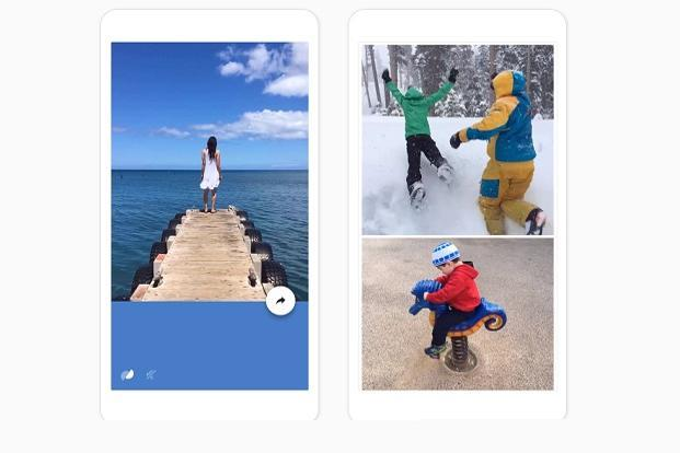 Google's new app Motion Stills allows users to create GIF (Graphics interchange format) images or record videos.