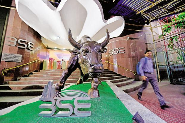 BSE Sensex on Monday rose to a fresh record high of 32,245.87 points, whereas the Nifty 50 closed at 9,966.40 points, just shy of the psychologically important 10,000 mark. Photo: Mint