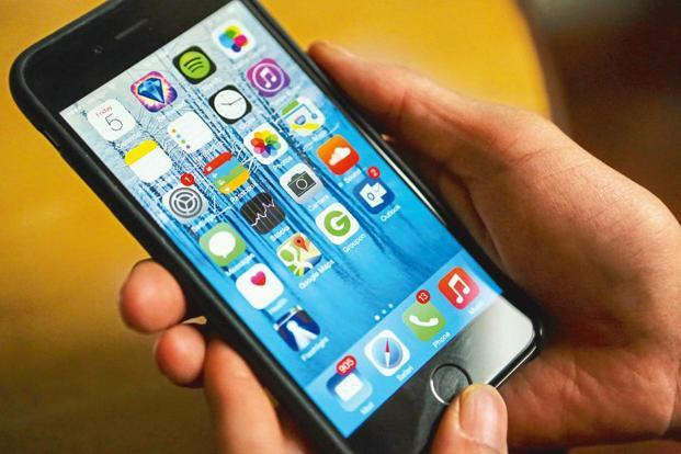 According to research firm IDC, 27 million smartphones were shipped in India in the January-March quarter of 2017. File photo: Bloomberg