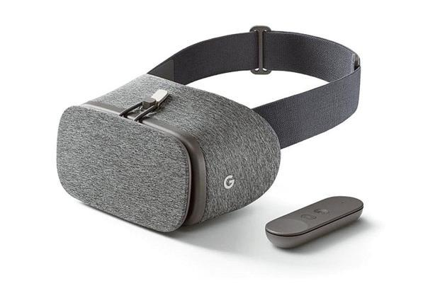 Google Daydream view comes with a soft wearable design that is lightweight and designed to fit comfortably over most eyeglasses.