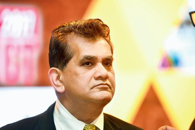 Niti Aayog CEO Amitabh Kant says government should restrict its role to planning and developing infrastructure.  Photo: Ramesh Pathania/Mint