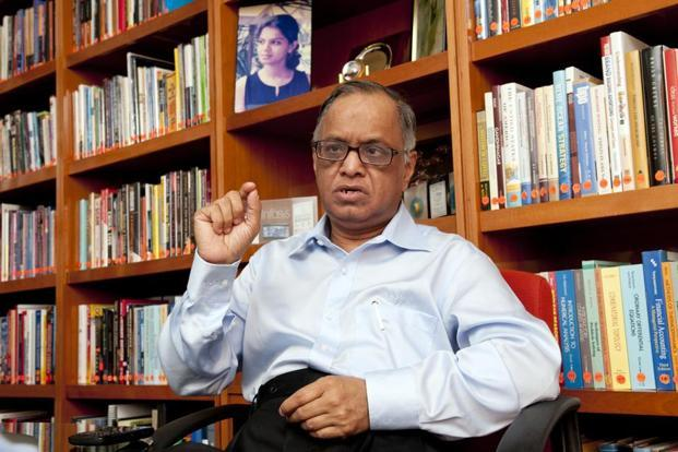 Infosys co-founder and promoter N.R. Narayana Murthy. Photo: Aniruddha Chowdhury/Mint