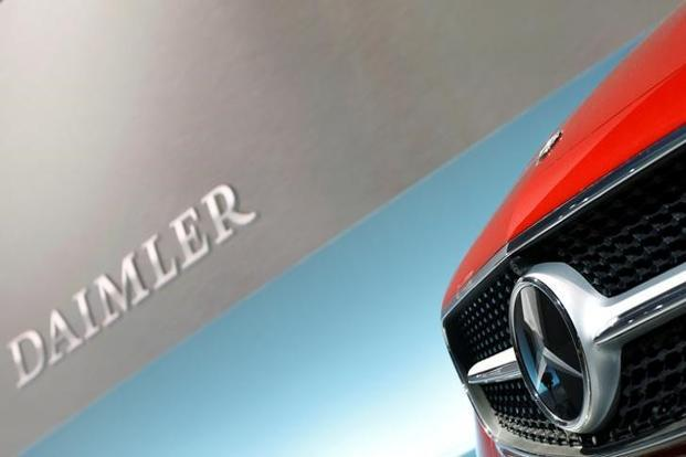 Daimler is counting on diesel while it invests in lowering the price and increasing the range of battery-powered cars to meet increasingly tough environmental regulations. Photo: Reuters
